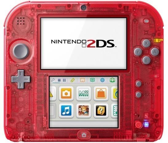 Consola Nintendo 2DS Roja + Pokemon X