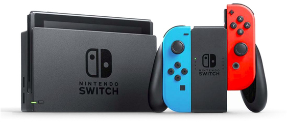Consola Nintendo SWITCH Azul Rojo