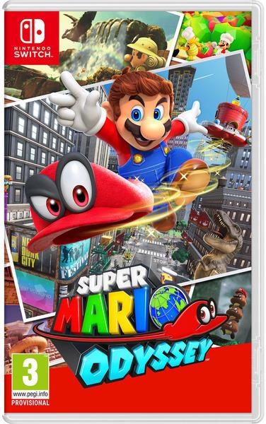 Juego Nintendo SWITCH Super Mario Odyssey