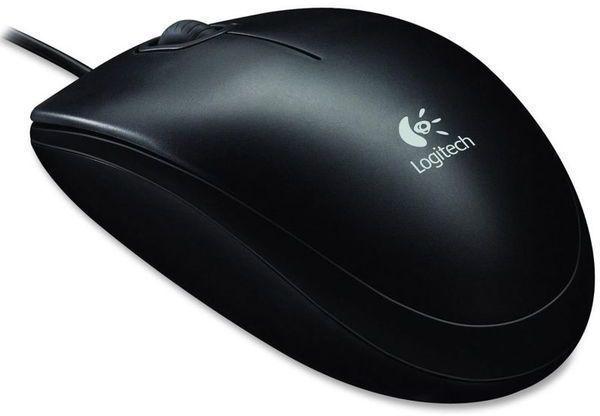 Raton Logitech OEM B100 Usb Negro