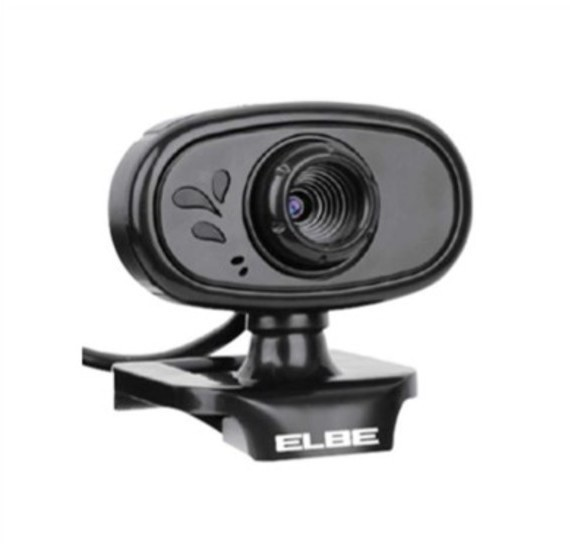 Webcam Elbe MC60 Videoconferencia Negra