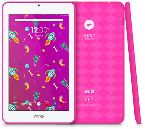 """Tablet Spc FLOW 9742108p 7"""" Ips 8gb Rosa"""