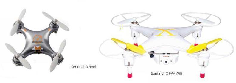 Dron Sentinel FAMILY Pack School X Fpv Wifi