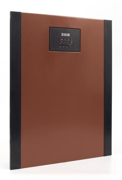 Calefactor Hjm SPLIT 637g Pared Rojo Mando 2000w