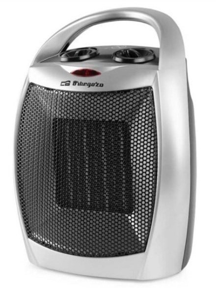 Calefactor Orbegozo CR5016 Silver Ceramico 1500w