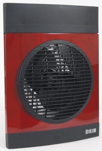 Calefactor Hjm 639R Vertical 2000w Rojo