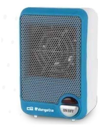 Calefactor Orbegozo FH5001 600w Vertical