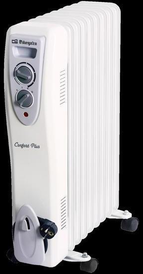 Radiador Orbegozo ACEITE Ra2005c 2000w 9 Elementos