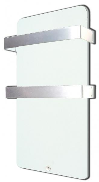Toallero Haverland XTAL 6b 600w Blanco Cristal