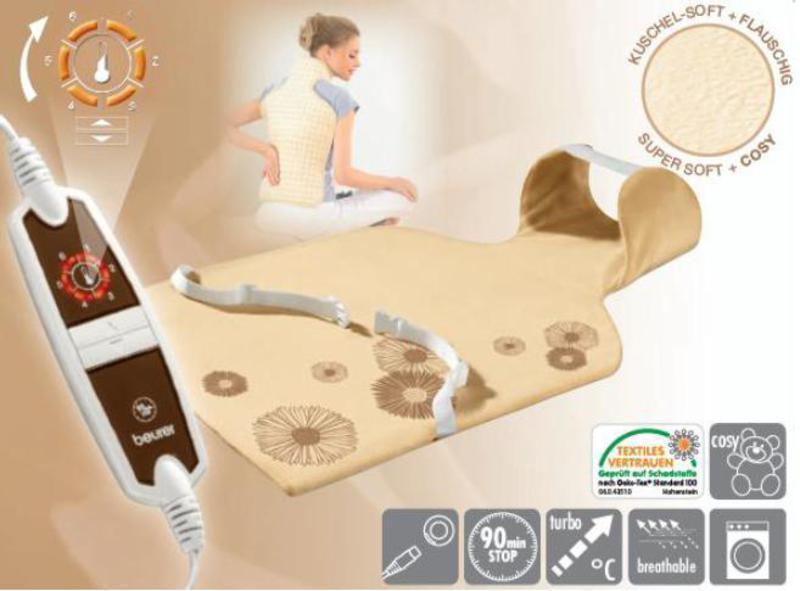 Almohadilla Beurer HK58LED 62x42 Cervical/dorsal