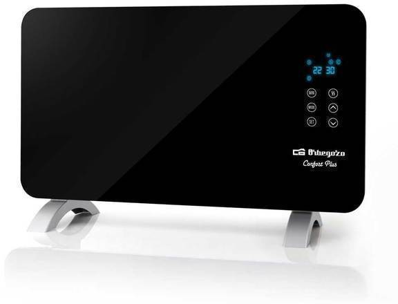 Emisor Orbegozo REH1060 1000w Panel Radiante Negro