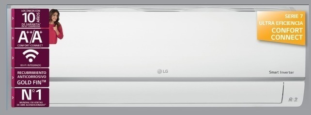 Aire Lg CONFORT12C.SET 1x1 Inv Wifi 3010fg A++/a+