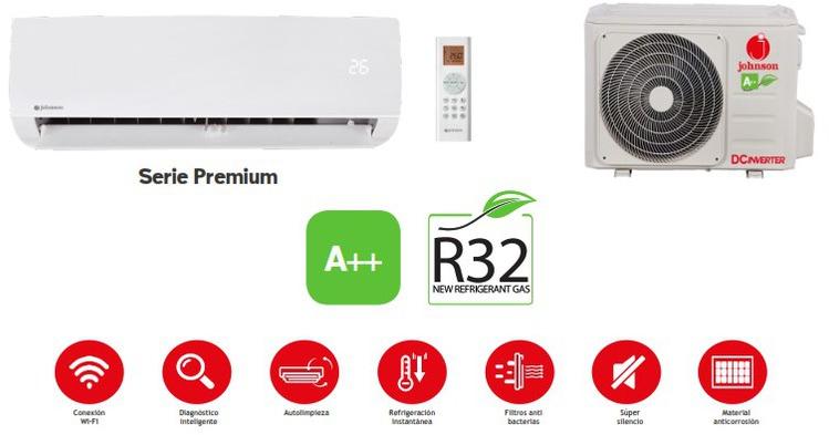 Aire Johnson PREMIUM52 1x1 Wifi Ready 4472fr A++