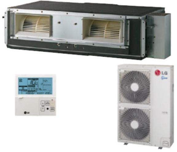 Aire Lg UB36H Conducto Inverter Monofasico