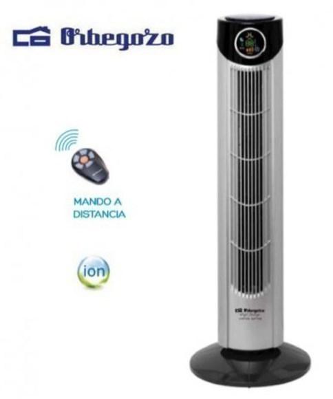 Ventilador Orbegozo TWM1010 Torre 89cm