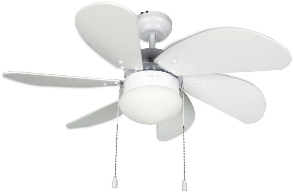 Ventilador Orbegozo CP15076 Techo 80cm 6palas Luz