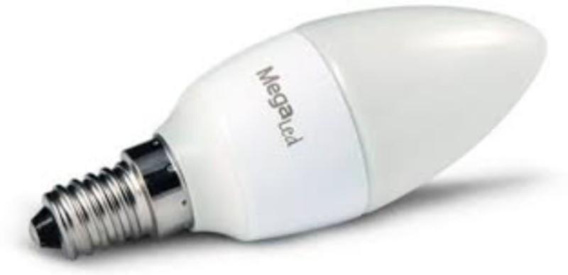 Bombilla Megaled LED Gig14e-c-45w Vela Calida4.5w