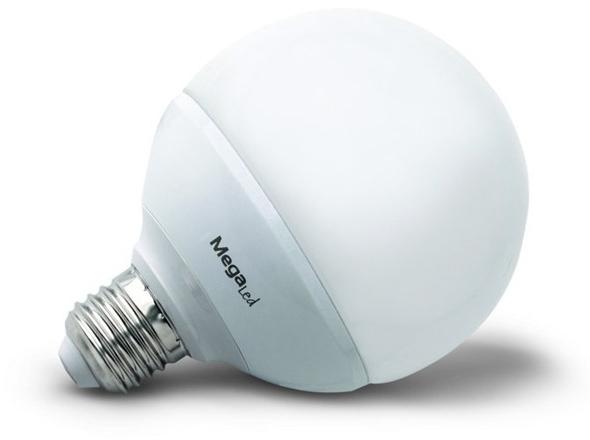 Bombilla Megaled LED Gig27e-g-60n Globo Mate6wqv**