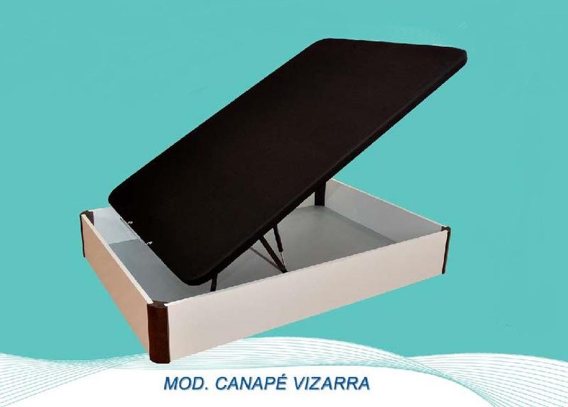 Canape Bracamonte VIZARRA 3d Cerezo 90x190cm