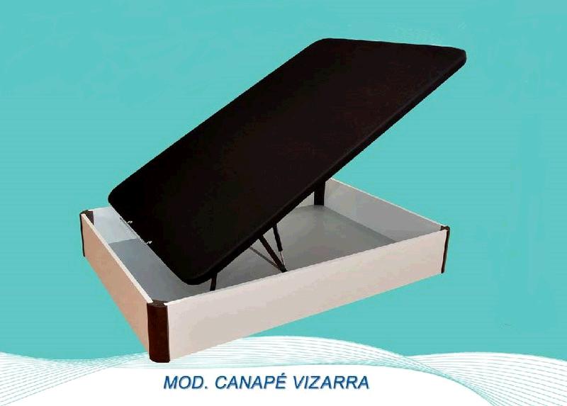 Canape Bracamonte VIZARRA 3d Blanco 135x190cm