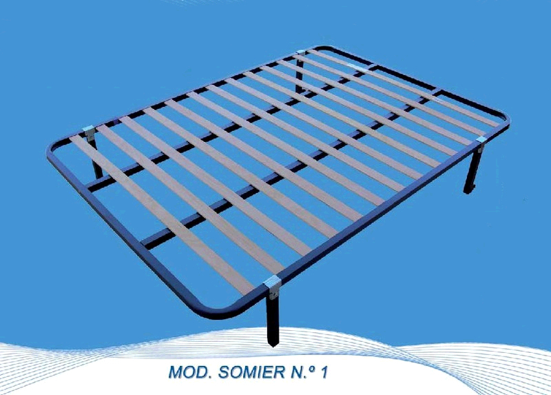 Somier Bracamonte LAMAS Chopo 150 X 200 Cm