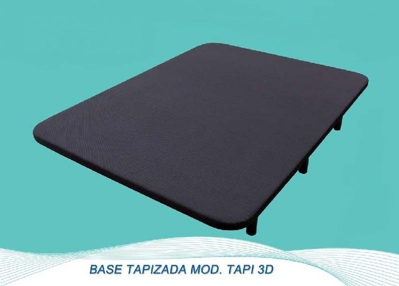 Base Bracamonte TAPIZADA 3d 90 X 190 Cm