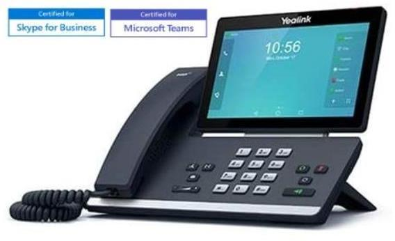 Teléfono IP Fija YEALINK TELEFONIA VIDEOTELEFONO ANDROID T58A