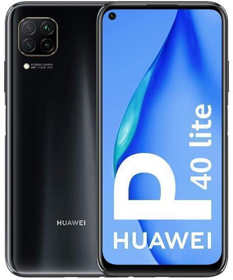 SmartPhone GSM/GPRS/EDGE/UMTS/HSDPA HUAWEI P40 LITE 6+128 DS MIDNIGHT BLACK