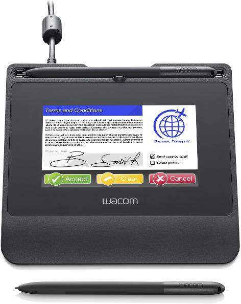 Tableta gráfica y pluma WACOM STU-540 SIGN PRO PDF