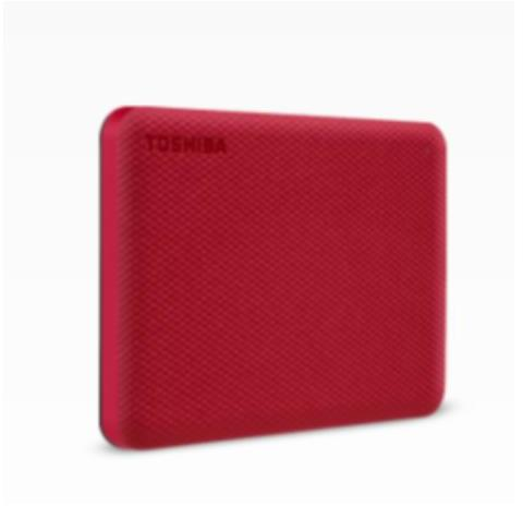 HDD Externo TOSHIBA CANVIO ADVANCE 2.5 4TB RED