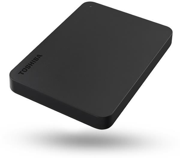 HDD Externo TOSHIBA CANVIO BASICS USB-C 2.5 2TB BLACK
