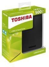 HDD Externo TOSHIBA CANVIO BASICS 2.5 500GB BLACK