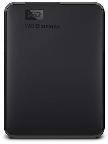 HDD Externo WESTERN DIGITAL WD ELEMENTS PORTABLE 4TB BLACK