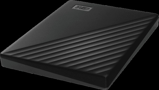 HDD Externo WESTERN DIGITAL MY PASSPORT 1TB BLACK WORLDWIDE NEW