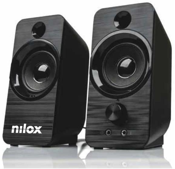Altavoces PC NILOX ALTAVOZ PC 6W