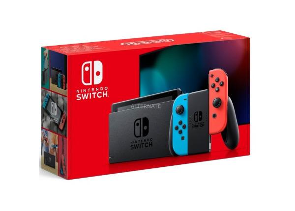 Consola de juegos NINTENDO SWITCH AZUL / ROJO 2019