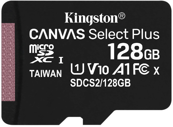 Tarjeta de memoria Micro SD KINGSTON 128GB MSD CSPLUS 100R A1 C10