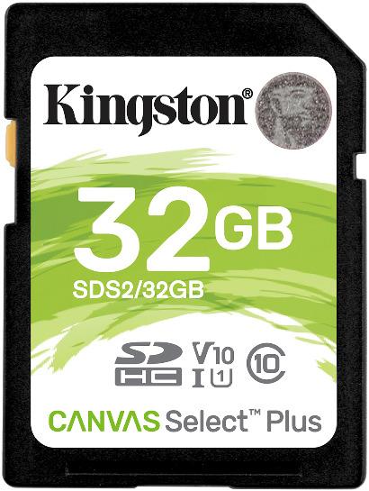 Tarjeta de memoria Secure Digital (SD) KINGSTON 32GB SD CSPLUS 100R C10 U1 V10
