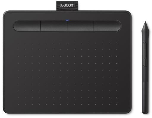 Tableta gráfica y pluma WACOM INTUOS S BLUETOOTH BLACK