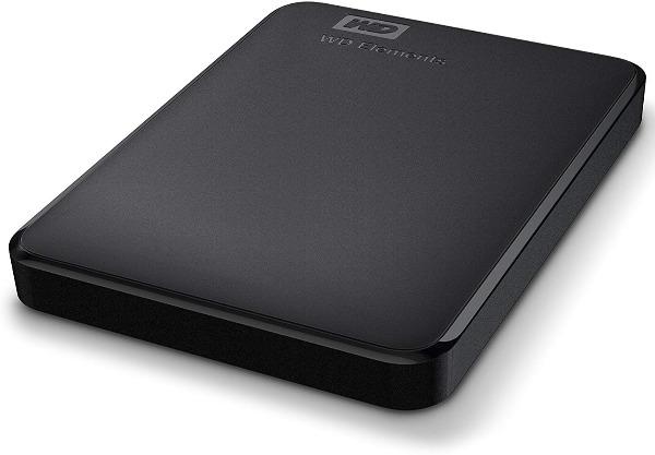 HDD Externo WESTERN DIGITAL WD ELEMENTS PORTABLE 2TB BLACK