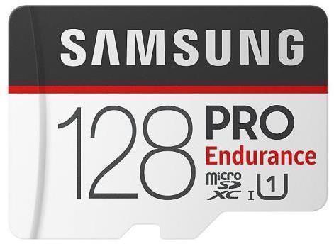 Tarjeta de memoria Micro SD SAMSUNG MICROSD PRO ENDURANCE 128GB