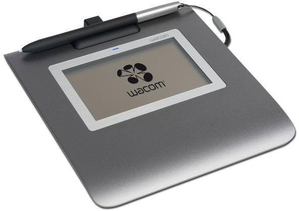 Tableta gráfica y pluma WACOM STU-430 SING PRO PDF