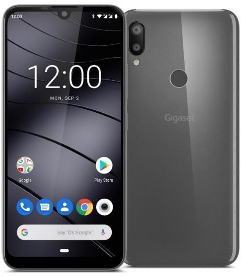 SmartPhone GSM/GPRS/EDGE/UMTS/HSDPA GIGASET GS190 GRIS
