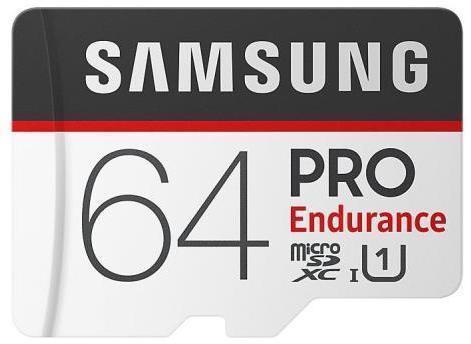 Tarjeta de memoria Micro SD SAMSUNG MICROSD PRO ENDURANCE 64GB