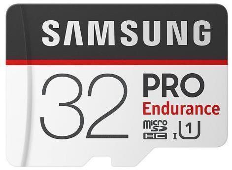 Tarjeta de memoria Micro SD SAMSUNG MICROSD PRO ENDURANCE 32GB