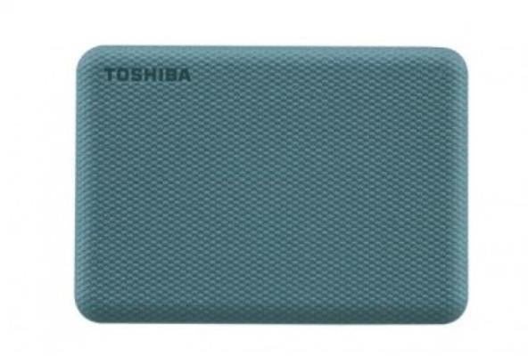 HDD Externo TOSHIBA CANVIO ADVANCE 2.5 1TB GREEN