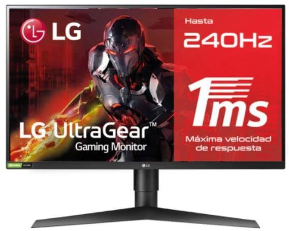 Monitor de 23 a 36 pulgadas LG MONITOR IPS 240 HZ 1 MS 400 CD