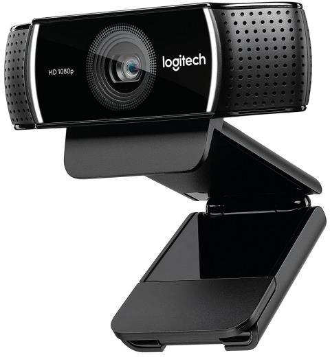 Webcam 1920x1080 LOGITECH WEBCAM C922 PRO STREAM + TRIPODE