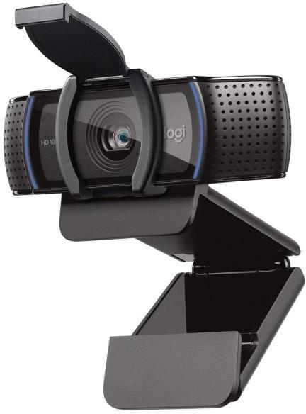 Webcam 1920x1080 LOGITECH WEBCAM HD PRO C920S CON TAPA