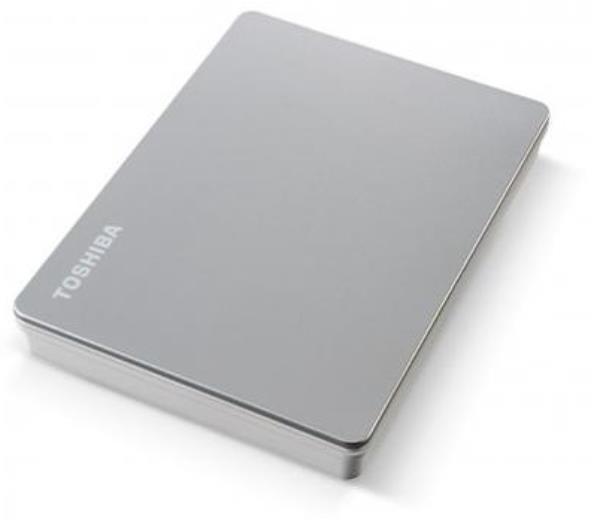 HDD Externo TOSHIBA CANVIO FLEX HDD EXT 4TB SILVER